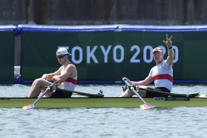 2021日本東京奧運:德國划船選手(AP)