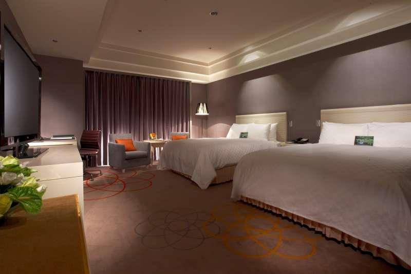 新竹老爺酒店與YYsports竹科概念店聯手合作,在東京奧運期間推出住房專案。(圖/新竹老爺酒店提供)