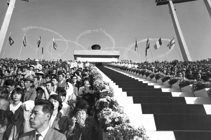1964年東京奧運。(美聯社)