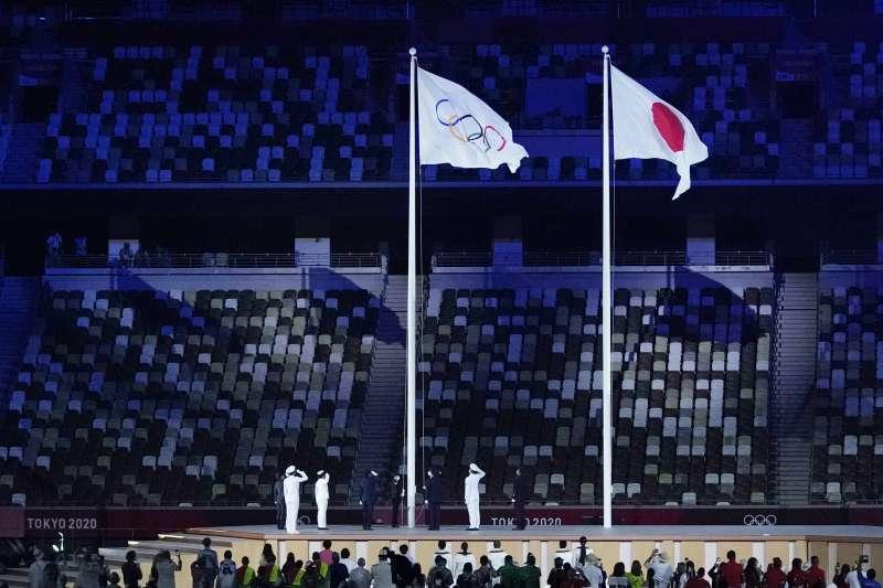 我國以「Chinese taipei」名義參加奧運,這次東京奧運以「T」為片假名開頭入場。(資料照,美聯社)