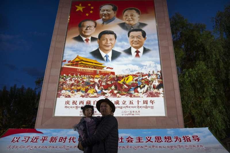 中國,,西藏習近平(AP)