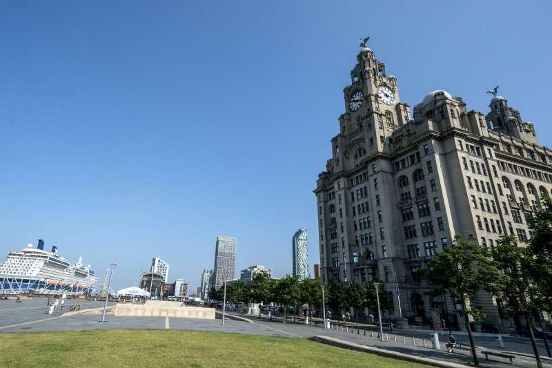 2021年7月,英國利物浦海事商城從世界遺產名錄中除名(AP)