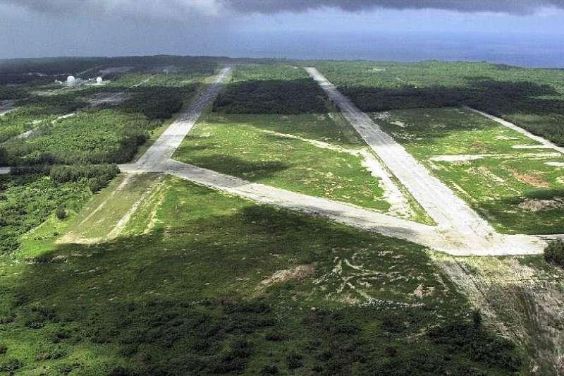 關島西北機場現況。(美國空軍官網)