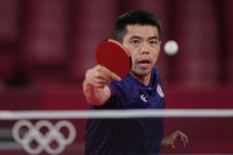有網友翻出「桌球教父」莊智淵過去參加台苯桌球明星賽的影片,整場莊與對手不斷上演搞笑戲碼,該影片在Youtube已累積3千多萬人次觀看。(AP)