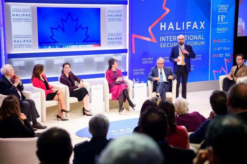 哈利法克斯國際安全論壇HFX是一獨立智庫,並不受加拿大政府指揮。(取自Halifax International Security Forum臉書)