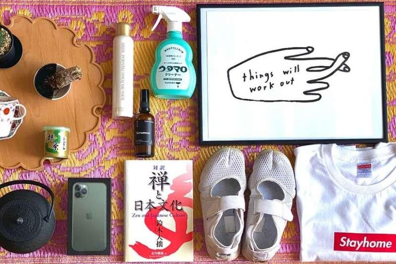 新冠封城,一名日本人所挑選的15件生活必需品,其中包括抹茶。(BBC)