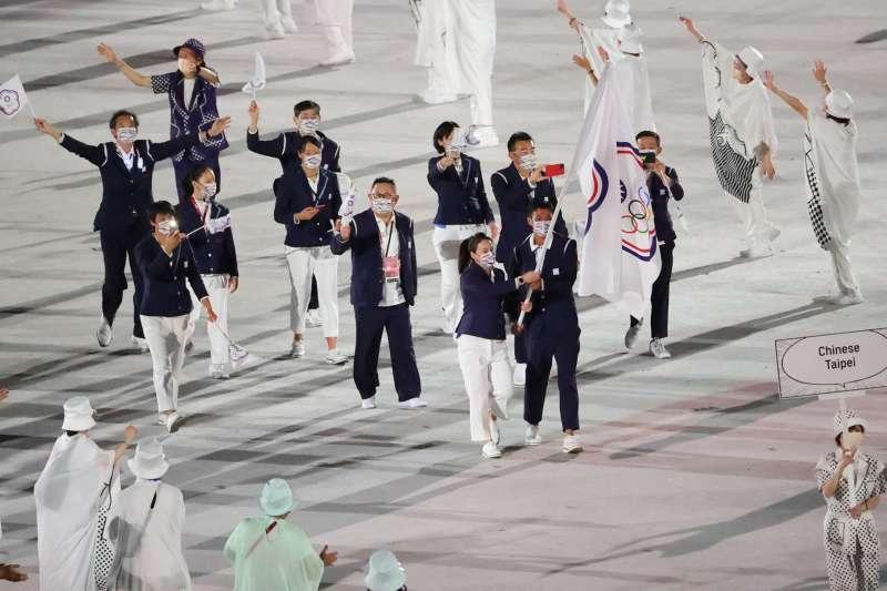 東京奧運7月23日開幕,作家汪浩發現一招可以讓台灣以「本名」出席奧運。(圖/取自蔡英文臉書)