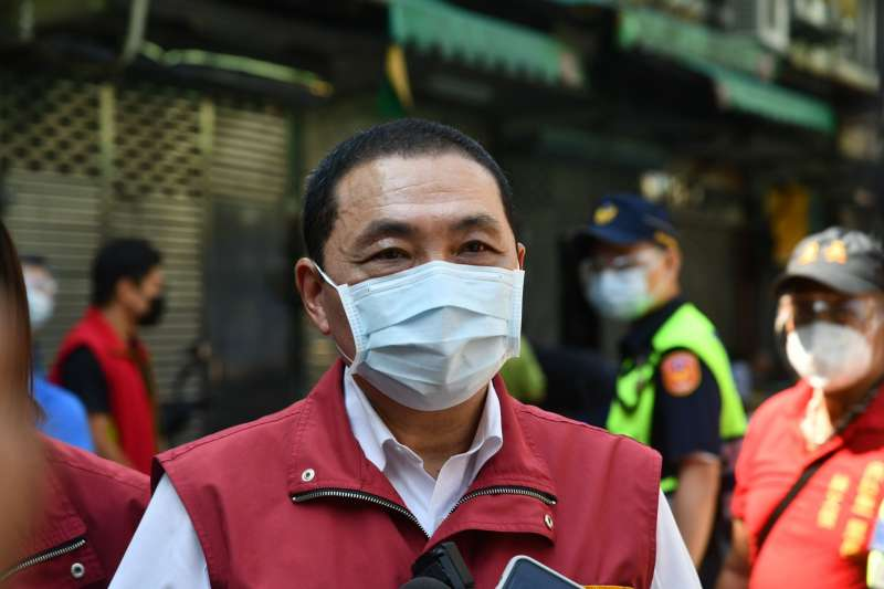 針對民調第一名,市長侯友宜回應表示,要以謙卑地態度面對疫情,不斷反省跟檢討以及更努力務實的做事。(圖/新北市新聞局提供)