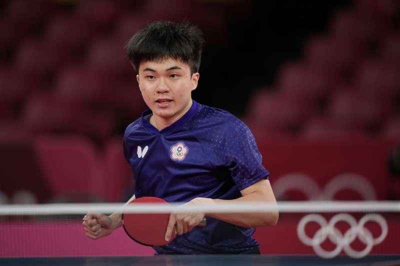年僅19歲的台灣桌球國手林昀儒,憑藉精實的球技和強大的情緒控管,一路打進東奧男單4強賽,圈粉無數觀眾。(AP)