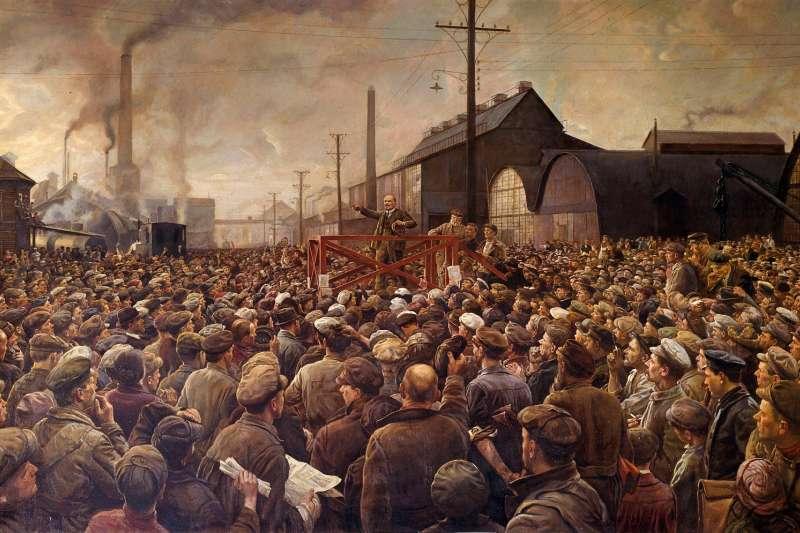 蘇聯共產黨如何取得資金推翻沙皇?英國歷史學家Catherine Merridale指出,德國保險套是俄國革命家的重要資金來源。(圖/Getty Images/*CUP提供)