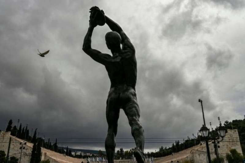 古希臘的奧運會以全裸身體作賽,以顯示人類身體的力量和美感。(BBC中文網)