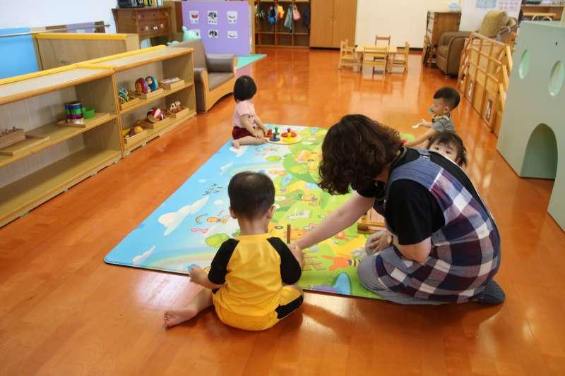 臺東縣內9家托嬰中心面開放恢復收托。(圖/臺東縣社會處提供)