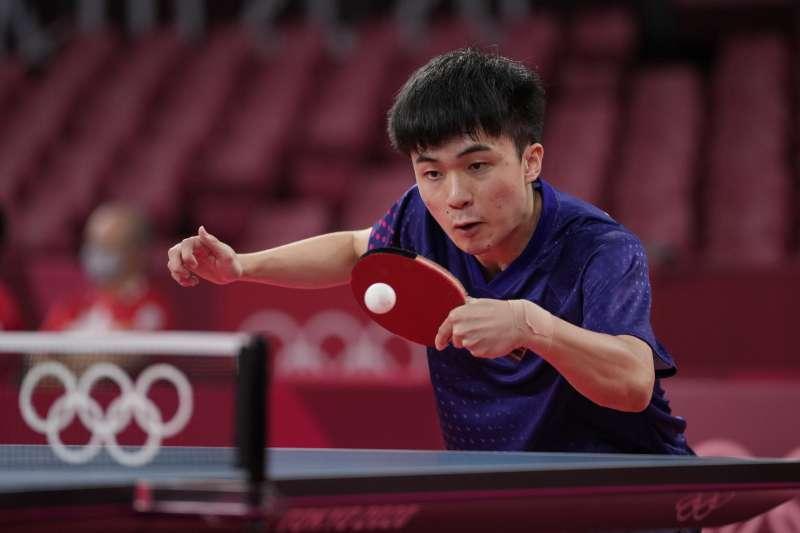 桌球選手林昀儒(見圖)在東京奧運獲得佳績,引發各界關注。(資料照,美聯社)