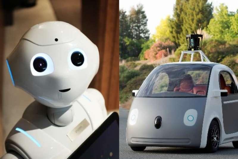 談到電動車很多人只會想到特斯拉,但這其實只是「未來移動」趨勢中的一小個環節,未來趨勢不單只有電動車。(合成圖/網路溫度計提供)