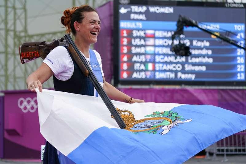 史上最小奪牌國家聖馬利諾等了61年,終於獲首面奧運獎牌(AP)