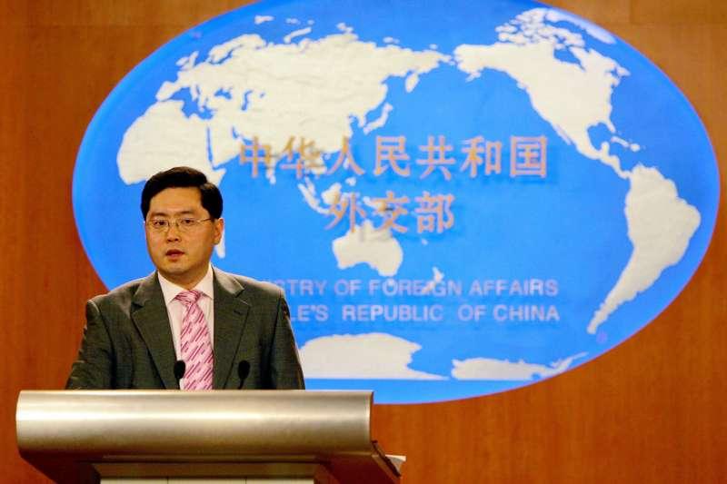 中國新任駐美大使秦剛(AP)