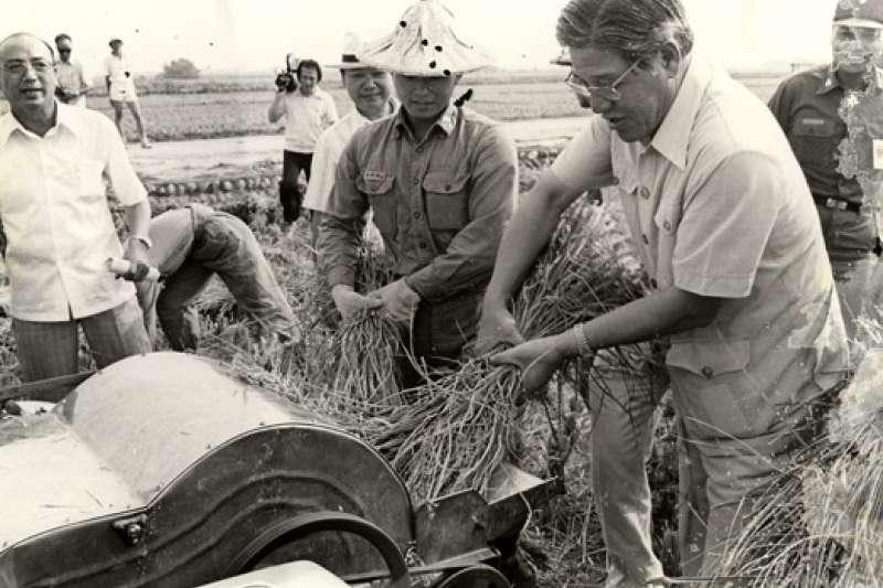 1980年,擔任台北市長時的李登輝。(總統府)