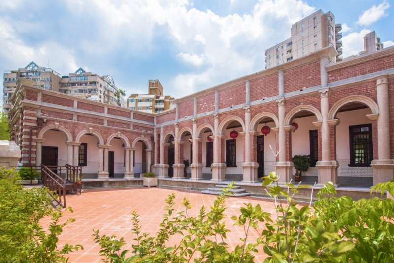 歷史建築「林懋陽故居」,已經委外經營,將延續歷史脈絡,結合展演功能並加入米其林台式料理創造台式莊園新價值。(圖/臺中市政府提供)