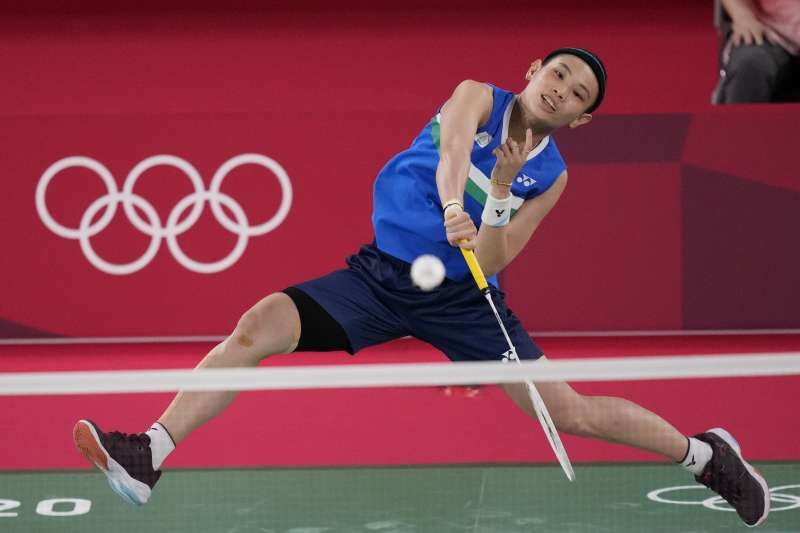 副總統賴清德在臉書發文表示,謝謝台灣羽球球后戴資穎,帶給台灣的驕傲和感動!(美聯社)
