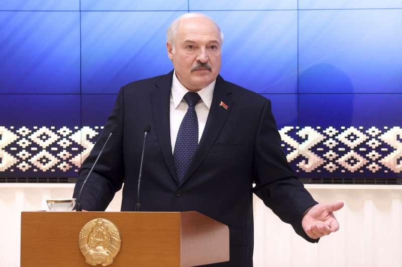 白羅斯總統盧卡申科(Alexander Lukashenko)號稱「歐洲最後的獨裁者」(AP)