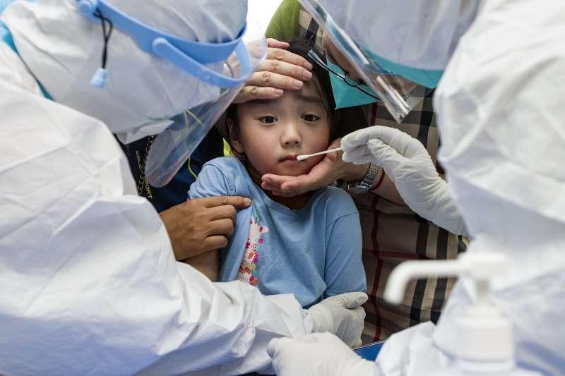 中國疫情、中國防疫,中國爆發Delta疫情。(AP)