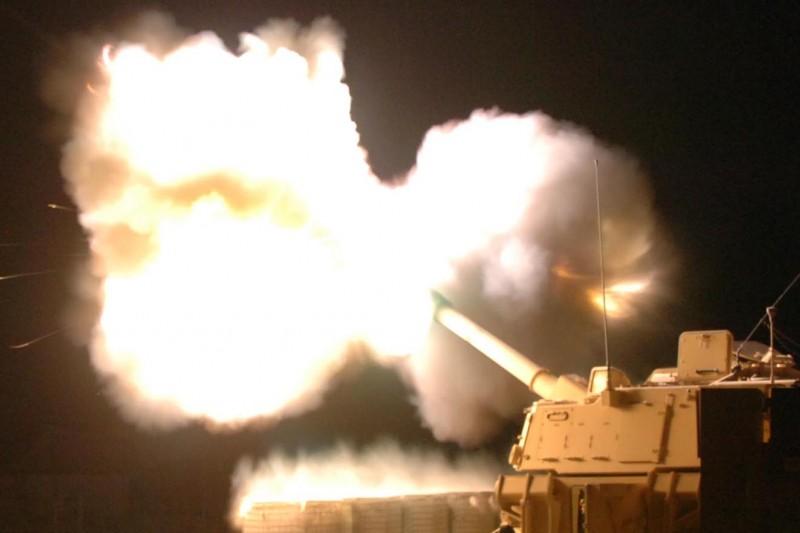 美國陸軍155公釐M109A6「帕拉丁」(Paladin)自走砲(Wikipedia / Public Domain)