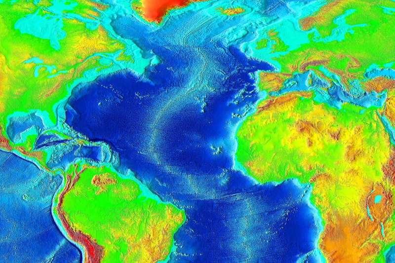 大西洋(Wikipedia / Public Domain)