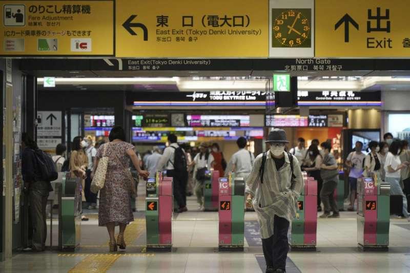 日本東京地鐵站(美聯社)