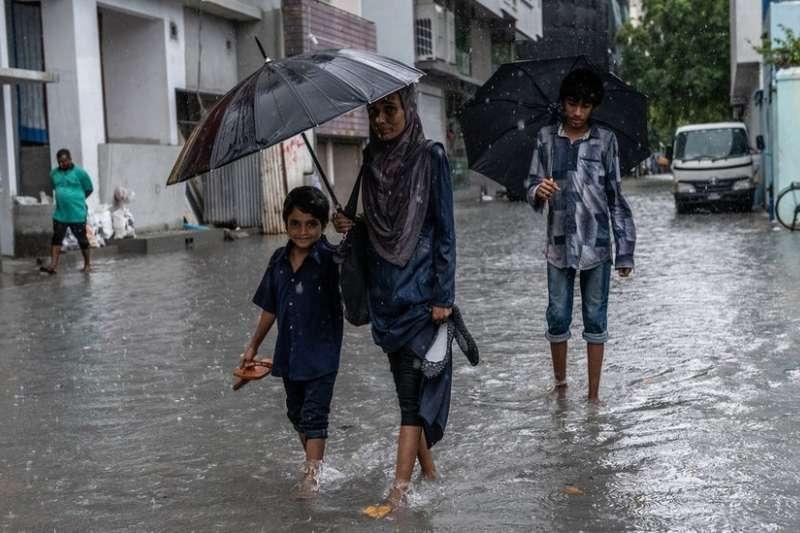 低窪的馬爾地夫是最受全球變暖威脅國家之一。(BBC中文網)