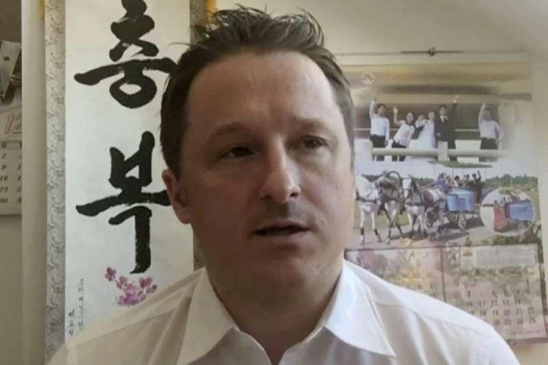 2021年8月11日,加拿大商人斯帕佛(Michael Spavor)遭中國法院判刑11年(AP)