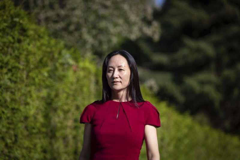 2021年8月,中國電信業鉅子華為財務長孟晚舟引渡案,孟晚舟在加拿大溫哥華出庭(AP)