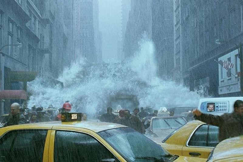 德國科學家警告,他與其團隊發現了一個主要的海洋環流系統變得愈來愈不穩定,而最壞的情況可能真的會出現如《明天過後》的劇情。(圖/取自imdb官網)
