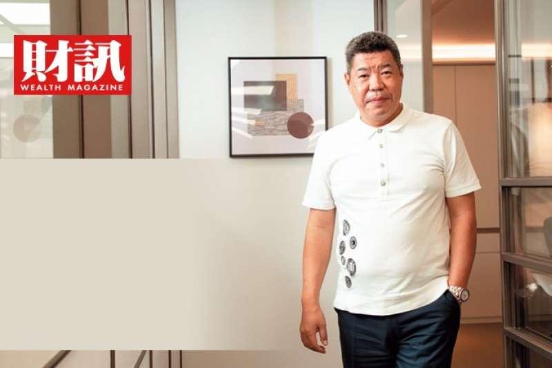 鉅陞國際開發董事長褚學忠。(圖/財訊提供)