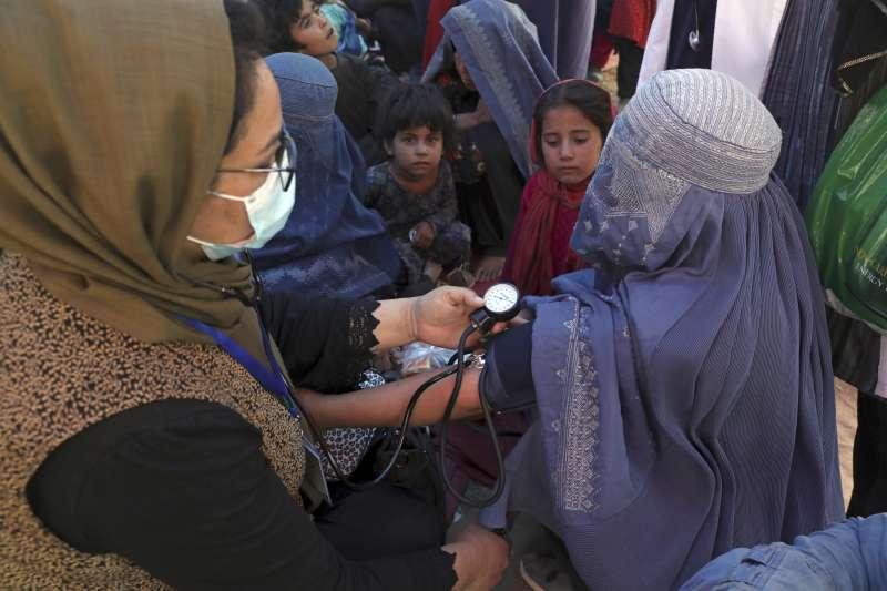 「神學士」游擊隊15日攻進阿富汗首都喀布爾,阿富汗女性未來處境可能將變得更惡劣(美聯社)