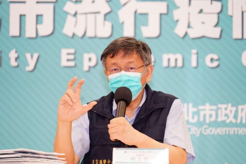 台北市長柯文哲臉書發布長達20分鐘的影片,遭反對者批為造神。(資料照,北市府提供)