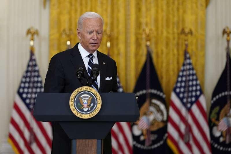 2021年8月,美國總統拜登因為阿富汗撤軍問題飽受各方抨擊(AP)