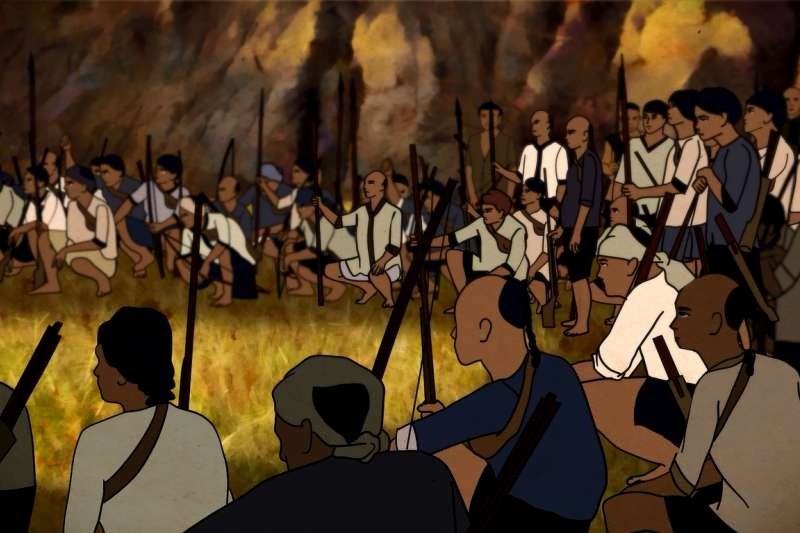 羅妹號事件紀錄片《社頂的孩子》。(屏東縣政府提供)