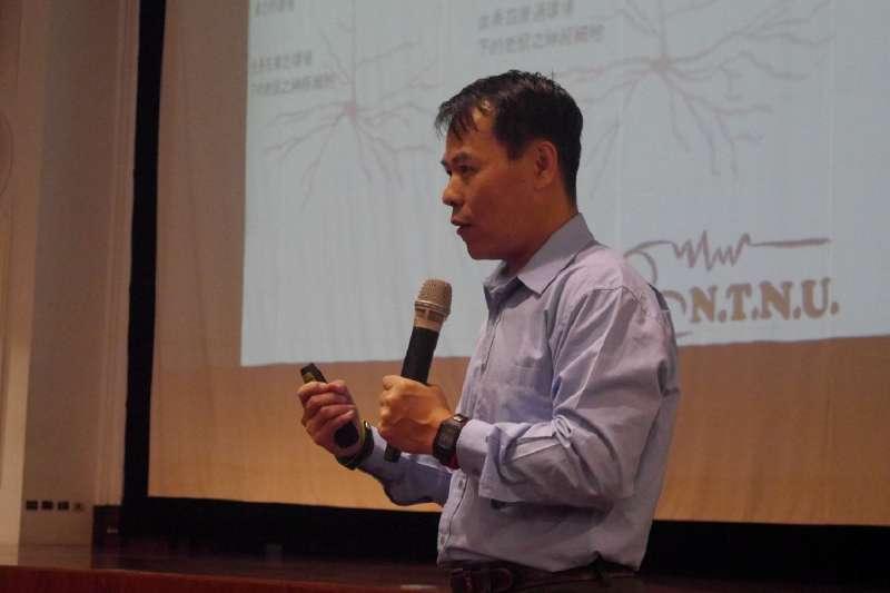 20210821-台灣師範大學體育與運動科學系教授洪聰敏。(取自師範大學公共室網站)