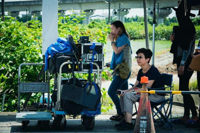 20210823-國片《期末考》工作照,導演郭珍弟。(海鵬影業提供)