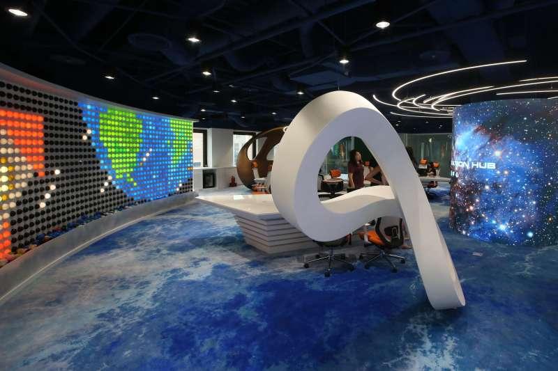 20210823-外貿協會創新業務中心。(柯承惠攝)