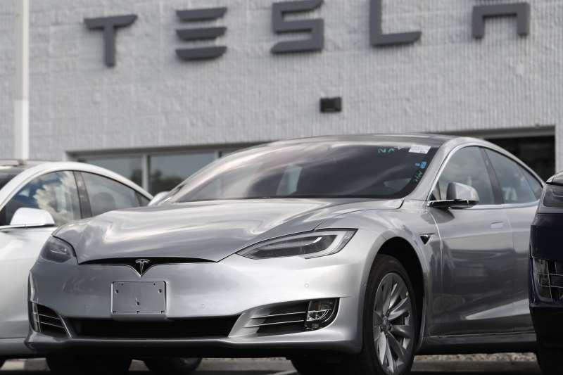 特斯拉電動車出貨量創新高。(美聯社)