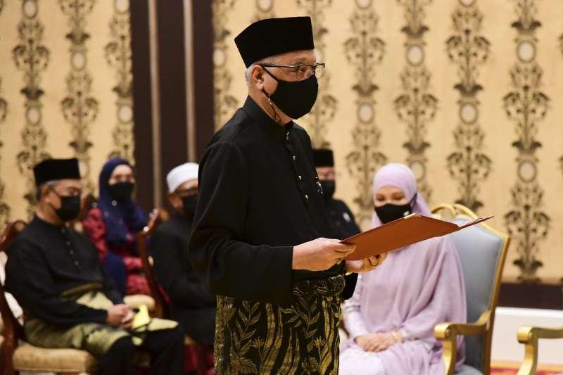 2021年8月,馬來西亞新任總理依斯邁沙比里(Ismail Sabri Yaakob)走馬上任(AP)