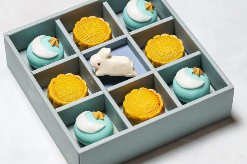 台北晶華酒店今年推出 8 款風格各異的月餅禮盒,樣樣兼顧體面和美味(圖/台北晶華酒店提供)