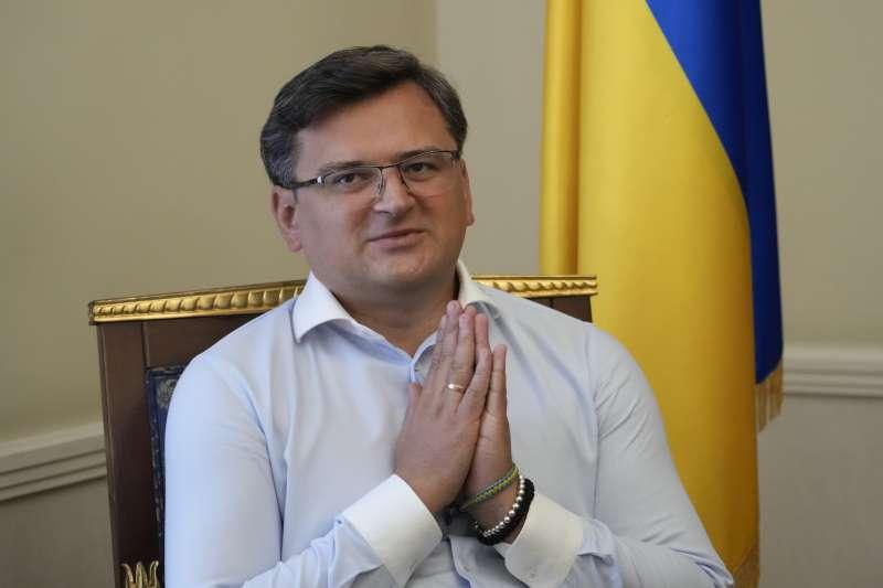 烏克蘭外交部長庫列巴(Dmytro Kuleba)(AP)