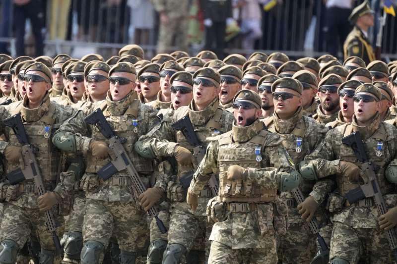 2021年8月24日,烏克蘭獨立紀念日大閱兵(AP)