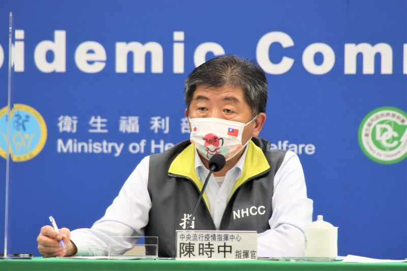 中央流行疫情指揮中心指揮官陳時中(見圖)24日表示,基本同意在中國打完疫苗滿4周者回台混打。(資料照,指揮中心提供)