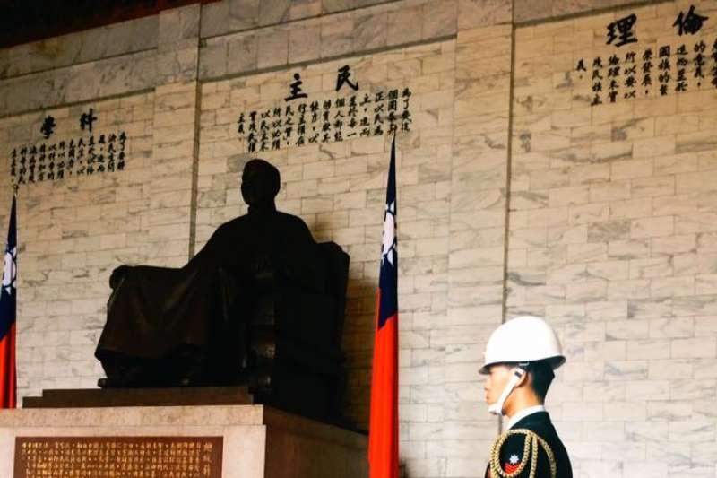 促轉會8日提出「反省威權歷史公園」計畫,強調中正紀念堂將拆除已故前總統蔣中正銅像。(資料照,取自中正紀念堂臉書)