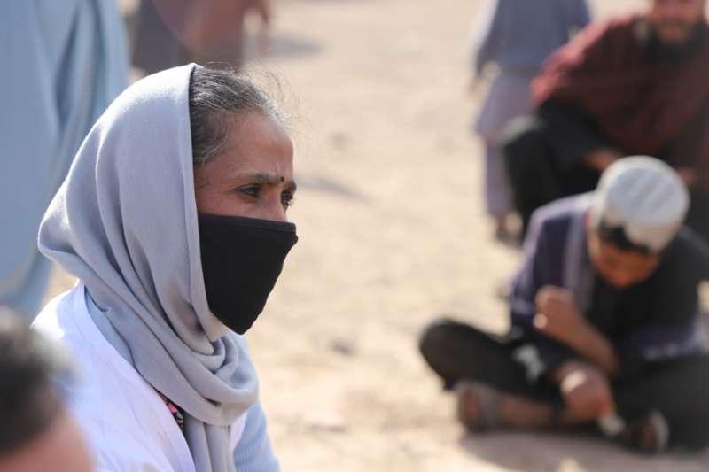 阿富汗世界展望會會長阿孫莎說,現在正是阿富汗社會與孩子最需要支援的時刻。(台灣世界展望會)