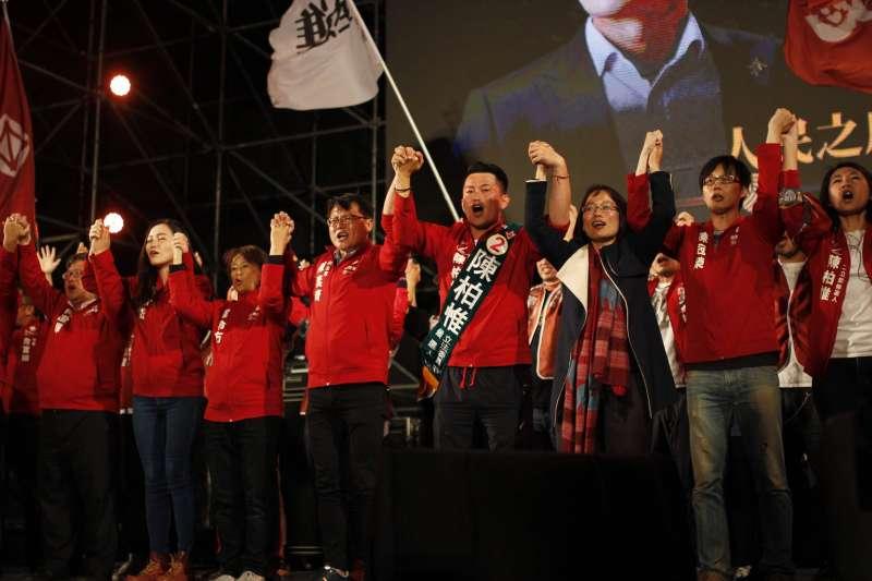 台灣基進立委陳柏惟罷免案將在10月23日進行投票,台灣基進的各地重要幹部近期也集結台中,展開「留惟行動」。(取自3Qi.tw陳柏惟臉書)