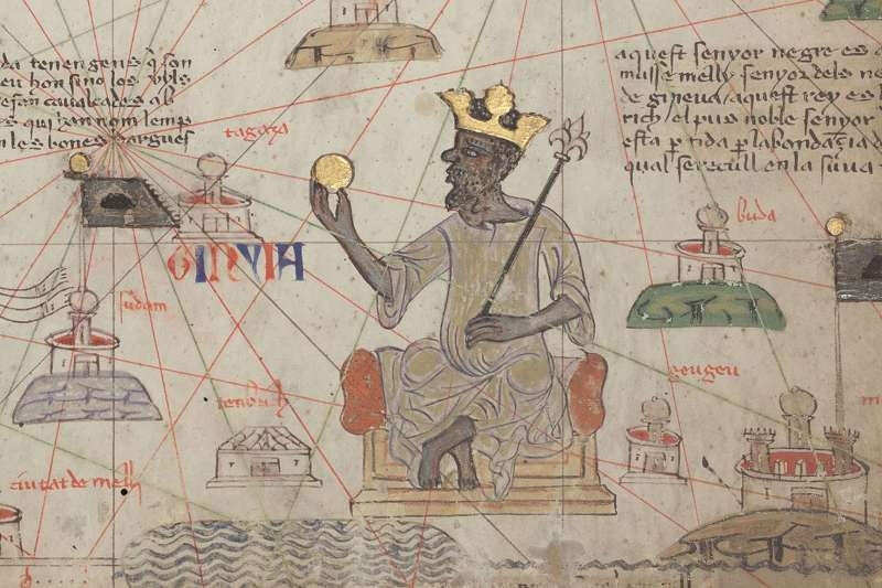 在非洲近代歷史學家眼中,曼薩.穆薩的帝國比當時的歐洲政權還要強大。(圖/廣場出版提供)